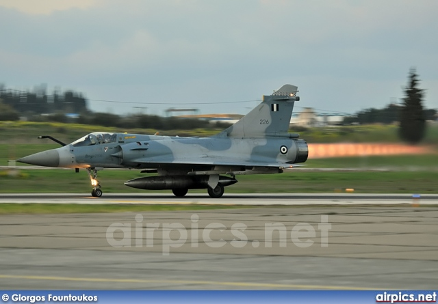 226, Dassault Mirage 2000EG, Hellenic Air Force