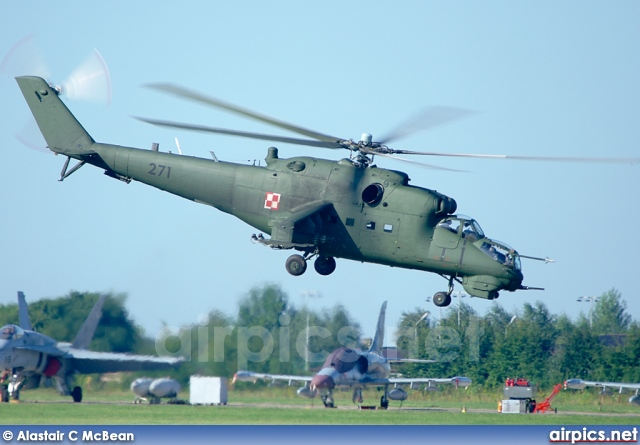 271, Mil Mi-24D, Polish Air Force