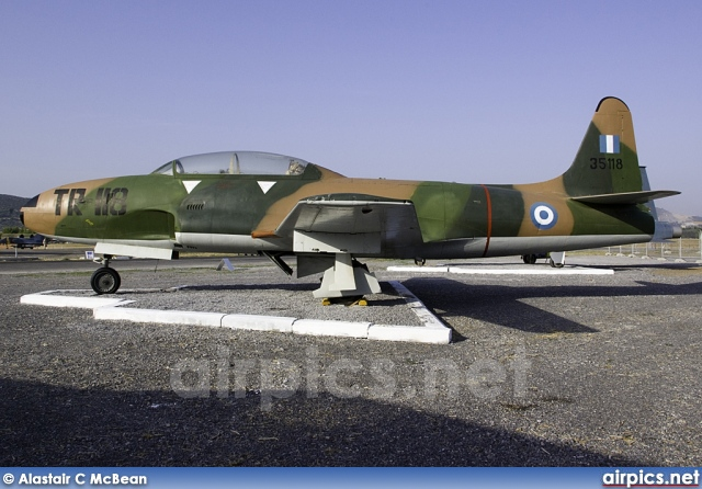35118, Lockheed T-33A, Hellenic Air Force