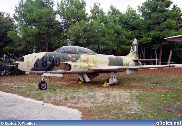 35890, Lockheed T-33A, Hellenic Air Force