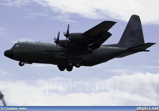 3633, Lockheed C-130B Hercules, Philippine Air Force