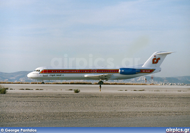 3D-ALM, Fokker F100, Royal Swazi National Airlines
