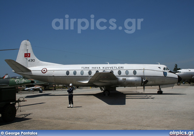 430, Vickers Viscount-794D, Turkish Air Force