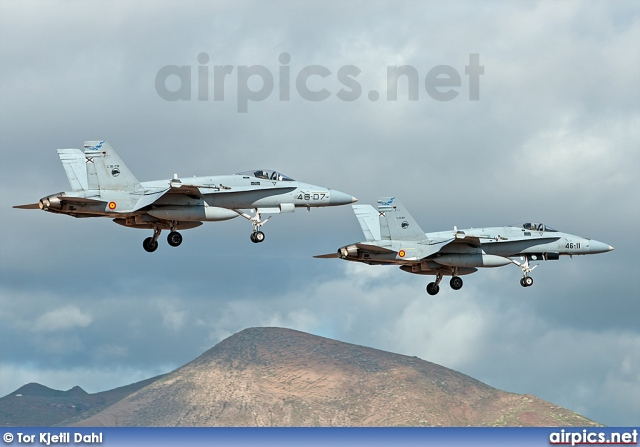 46-07, Boeing (McDonnell Douglas) F/A-18A Hornet, Spanish Air Force