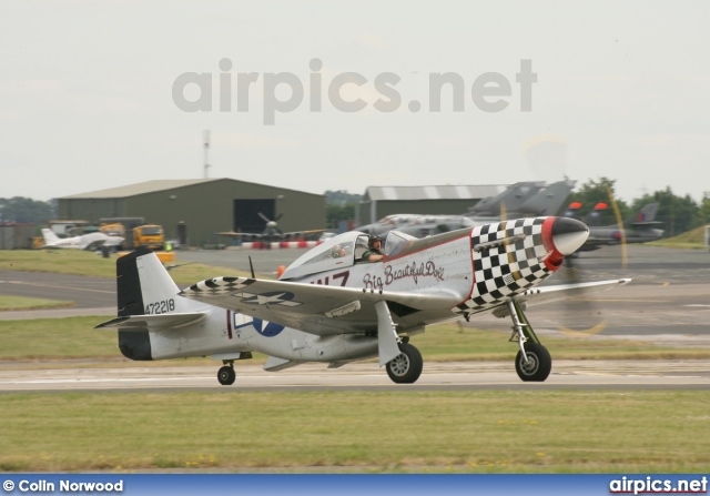 472218, North American P-51D Mustang, Private