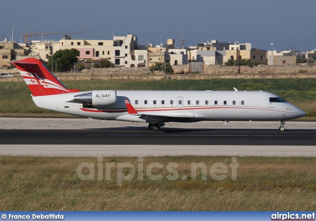 4L-GAF, Bombardier Challenger 850, Georgian Airways