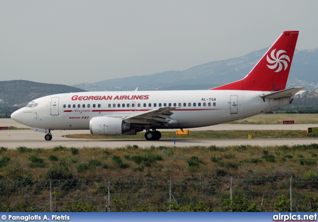 4L-TGA, Boeing 737-500, Georgian Airways
