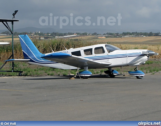 4X-ANS, Piper PA-32-260 Cherokee Six, Golden Wings