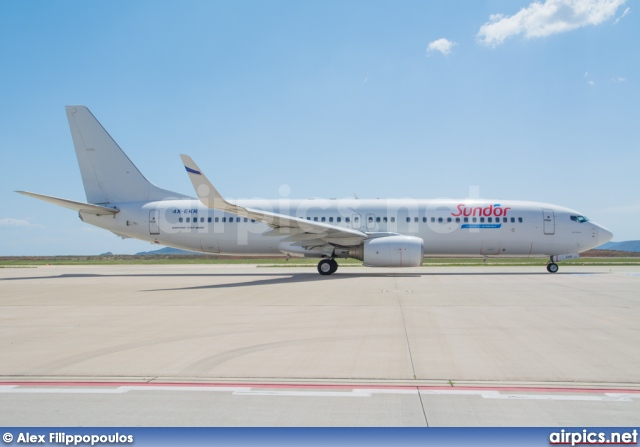 4X-EKR, Boeing 737-800, Sun d'Or International Airlines