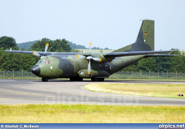 50-85, Transall C-160D, German Air Force - Luftwaffe