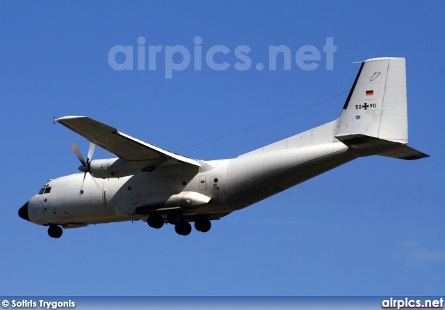 50-90, Transall C-160D, German Air Force - Luftwaffe