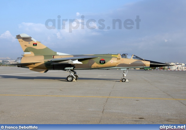 502, Dassault Mirage F.1ED, Libyan Air Force