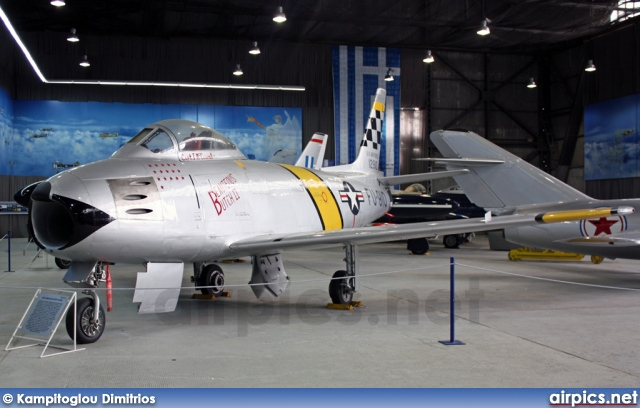 52-2910, North American F-86F Sabre, United States Air Force
