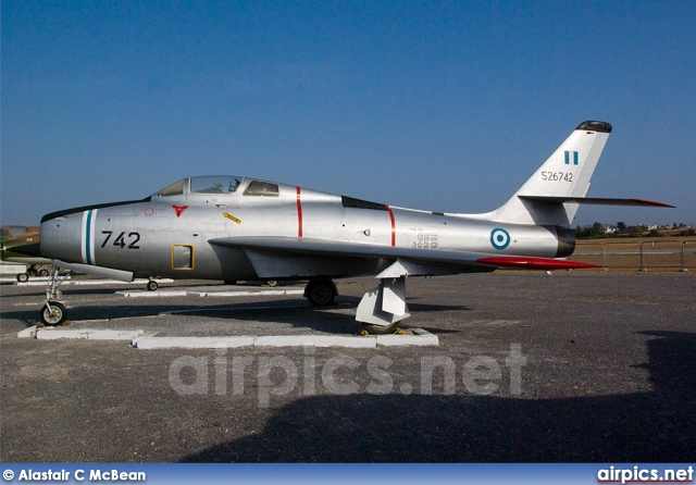 52-6743, Republic F-84F Thunderstreak, Hellenic Air Force