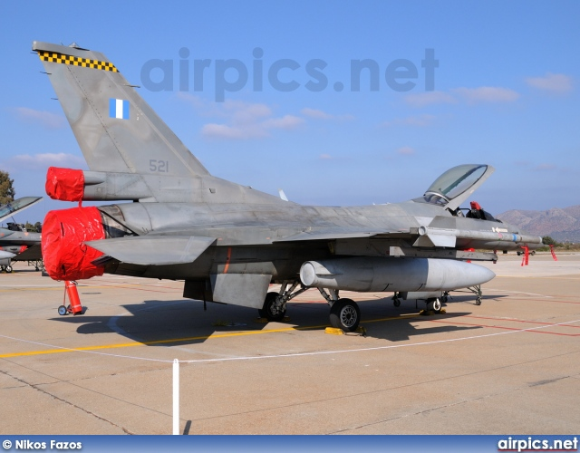 521, Lockheed F-16C Fighting Falcon, Hellenic Air Force