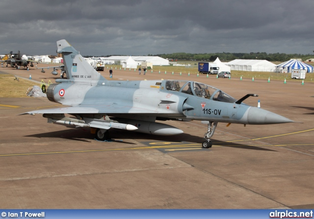 522, Dassault Mirage 2000B, French Air Force