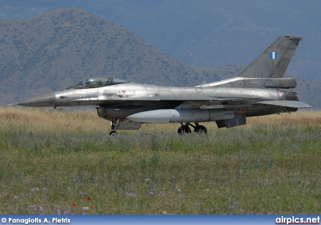 524, Lockheed F-16C Fighting Falcon, Hellenic Air Force
