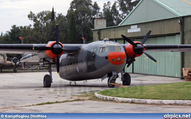 53-258, Nord 2501D Noratlas, Hellenic Air Force