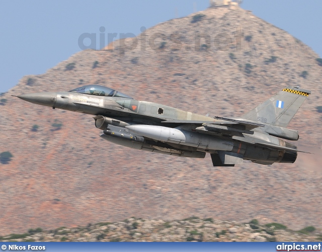 538, Lockheed F-16C Fighting Falcon, Hellenic Air Force
