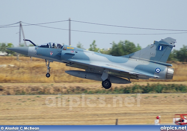 548, Dassault Mirage 2000-5EG, Hellenic Air Force