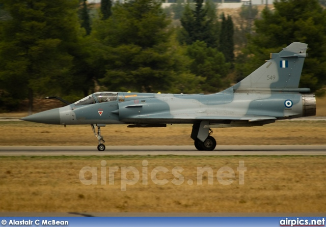 549, Dassault Mirage 2000-5EG, Hellenic Air Force