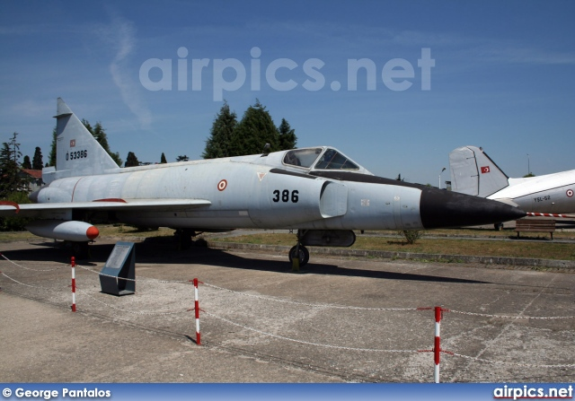 55-3386, Convair F-102A Delta Dagger, Turkish Air Force