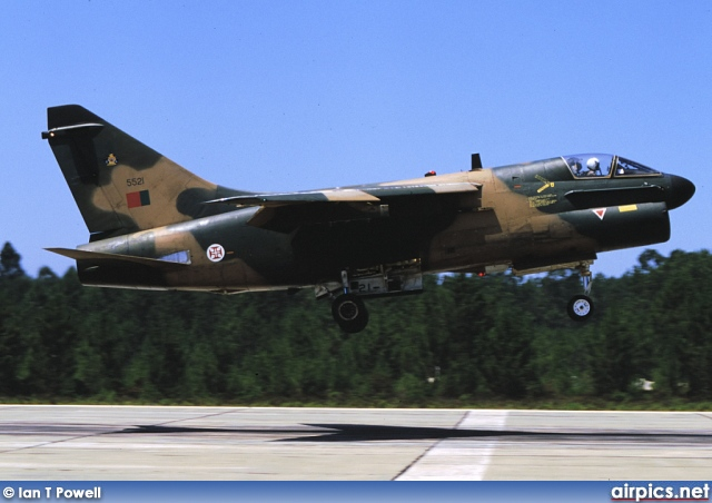 5521, Ling-Temco-Vought A-7P Corsair II, Portuguese Air Force