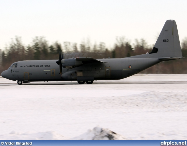 5601, Lockheed C-130J-30 Hercules, Royal Norwegian Air Force