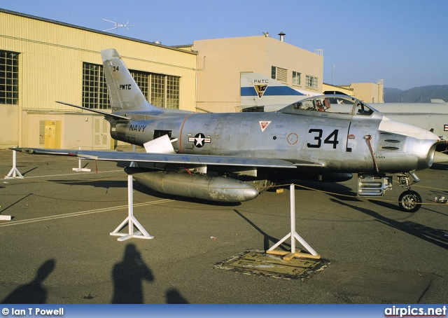 576424, North American QF-86F Sabre, United States Navy