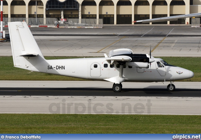 5A-DHN, De Havilland Canada DHC-6-300 Twin Otter, Air Libya
