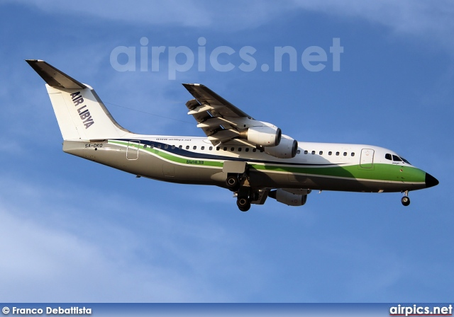5A-DKQ, British Aerospace BAe 146-300, Air Libya