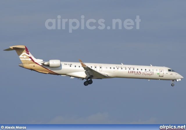 5A-LAB, Bombardier CRJ-900ER, Libyan Airlines