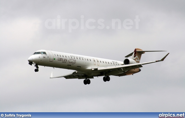 5A-LAC, Bombardier CRJ-900ER, Libyan Airlines