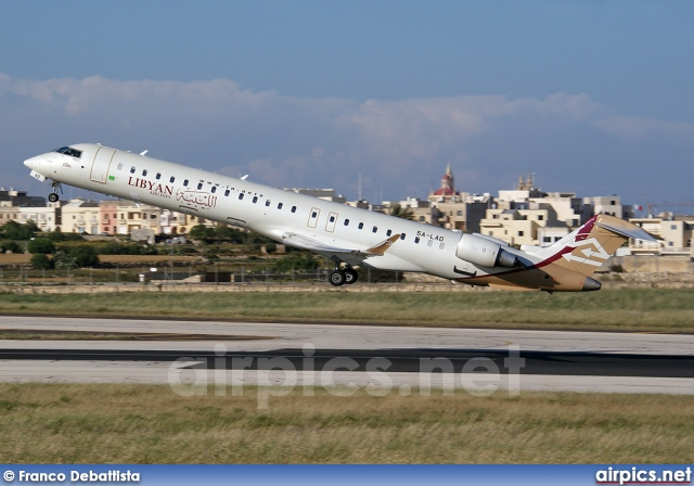 5A-LAD, Bombardier CRJ-900ER, Libyan Airlines