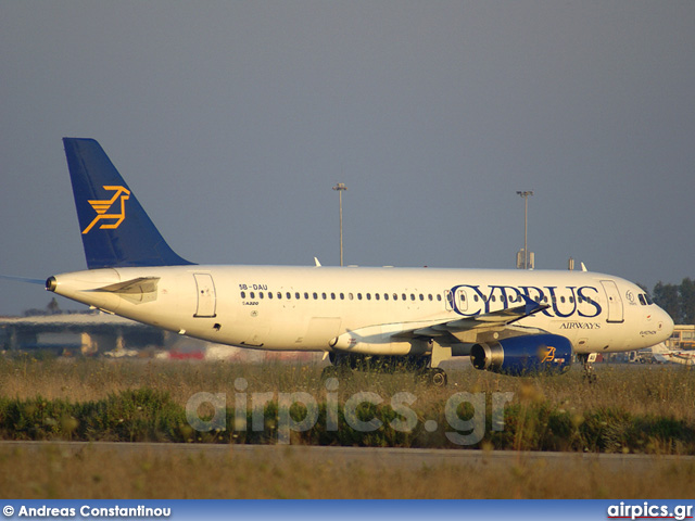 5B-DAU, Airbus A320-200, Cyprus Airways