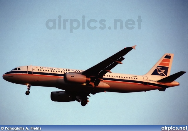 5B-DAV, Airbus A320-200, Cyprus Airways