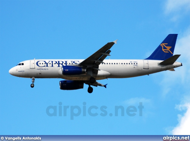 5B-DBA, Airbus A320-200, Cyprus Airways