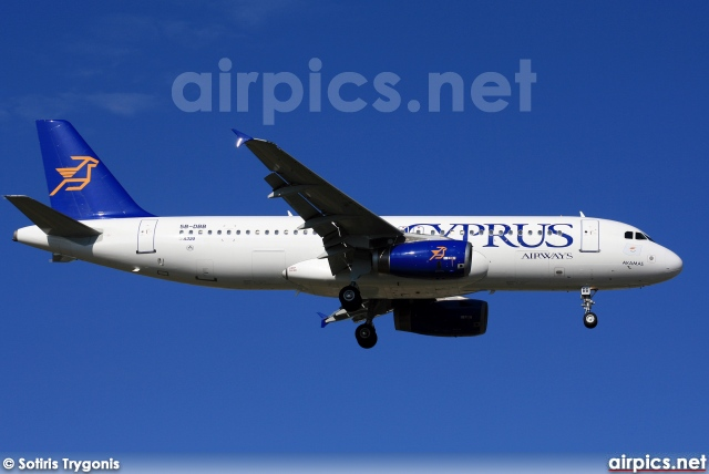 5B-DBB, Airbus A320-200, Cyprus Airways
