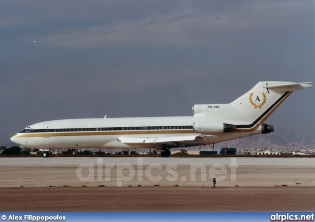 5B-DBE, Boeing 727-100, Private