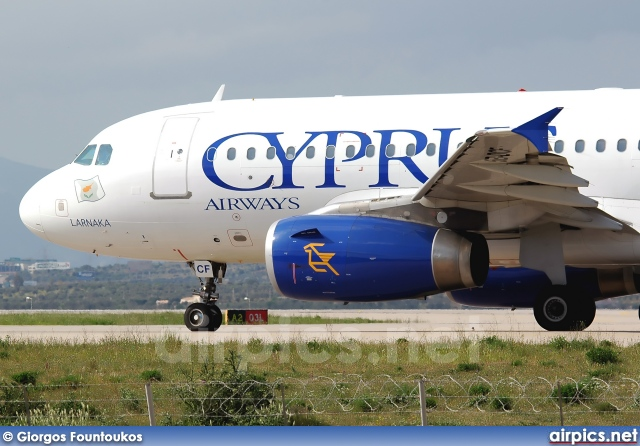 5B-DCF, Airbus A319-100, Cyprus Airways