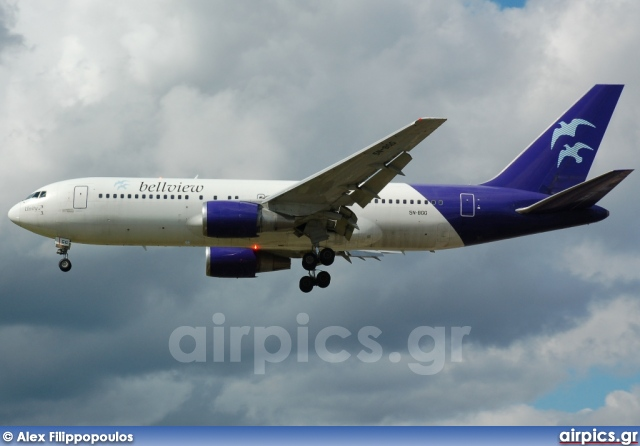 5N-BGG, Boeing 767-200ER, Bellview Airlines (Nigeria)