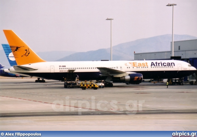 5Y-QQQ, Boeing 767-300ER, East African Safari Air
