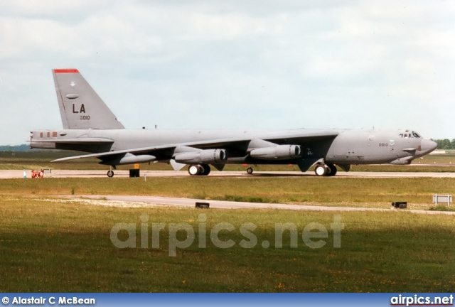 60-0010, Boeing B-52H Stratofortress, United States Air Force