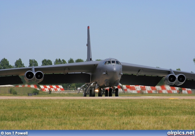 60-0052, Boeing B-52H Stratofortress, United States Air Force