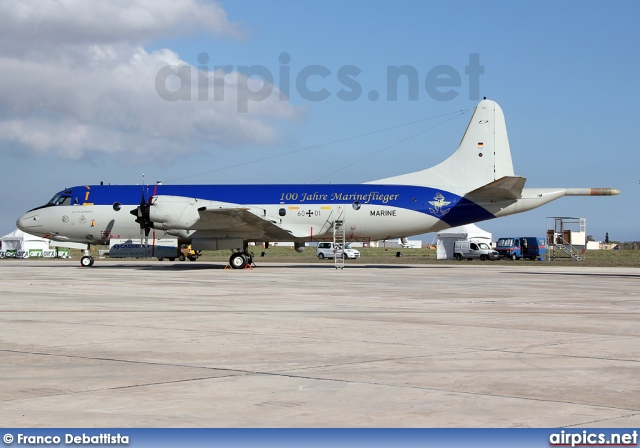 60-01, Lockheed P-3C Orion, German Navy
