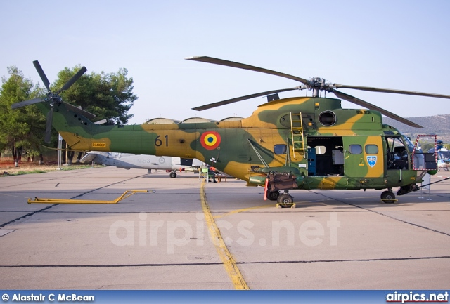 61, IAR 330L Puma, Romanian Air Force