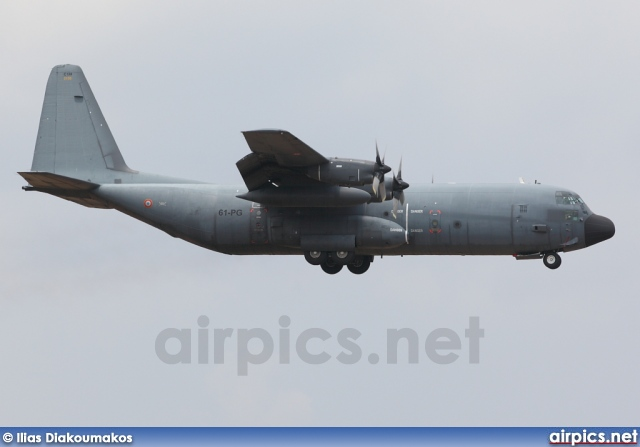 61-PG, Lockheed C-130H Hercules, French Air Force