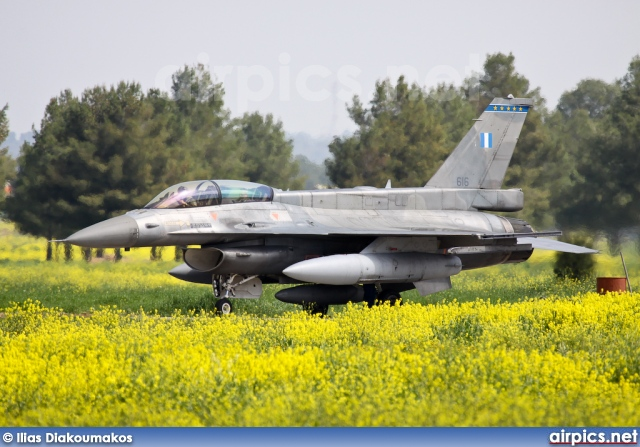 616, Lockheed F-16D Fighting Falcon, Hellenic Air Force