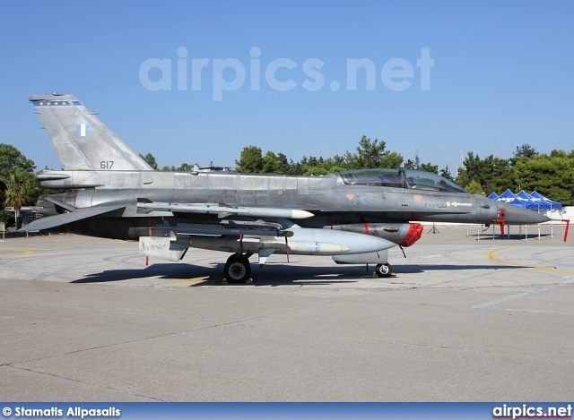 617, Lockheed F-16D Fighting Falcon, Hellenic Air Force