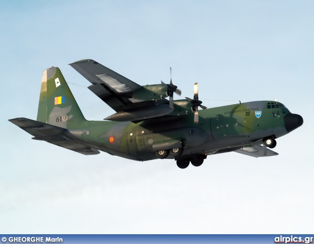 6191, Lockheed C-130H Hercules, Romanian Air Force